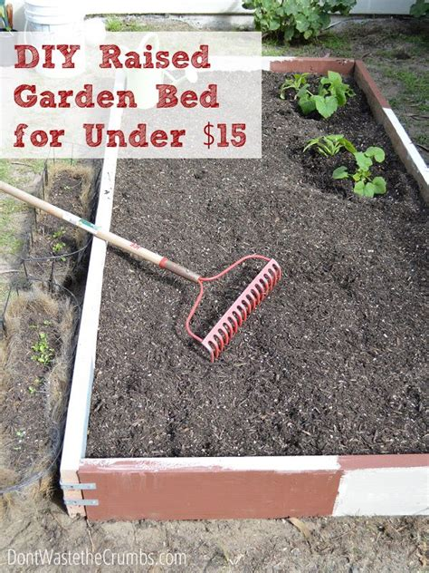 how to build a raised garden bed cheap 5 diy raised bed gardening projects nifty diys