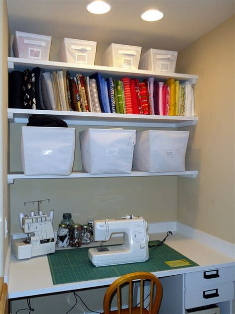 Sewing Closet Ideas by Sewing Station In Closet Embroidery