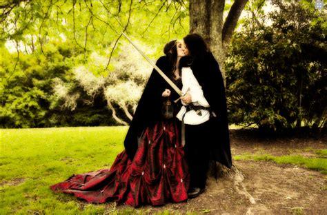 Gothic wedding planner steff metal