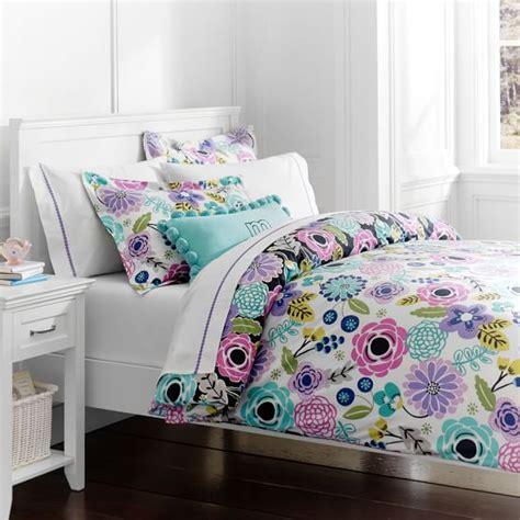 pbteen comforters abby floral duvet cover sham pbteen