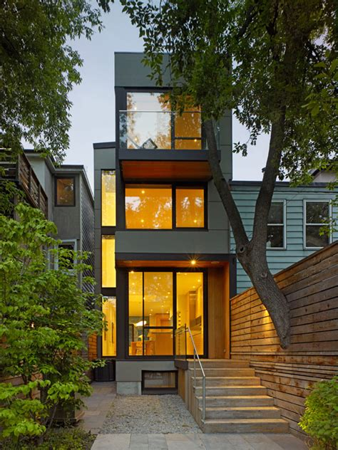small houses architecture modern home conversion in toronto showcasing inspiring
