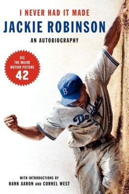 the united states v jackie robinson books i never had it made by jackie robinson 9780060555979