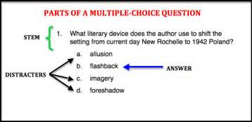 designing common choice questions scholastic
