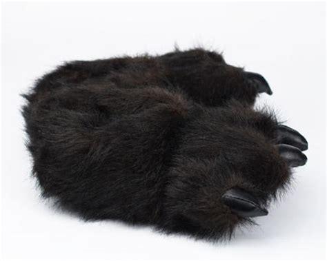 paw slippers black paw slippers paw slippers
