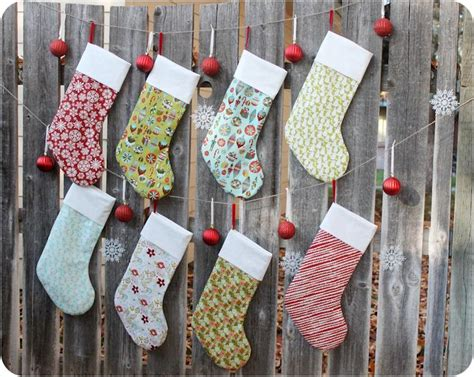 stocking pattern for christmas craft 10 free christmas sewing patterns on craftsy