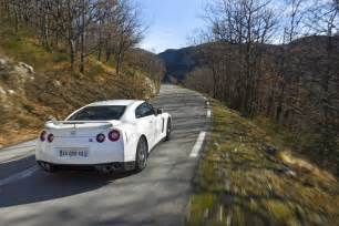 Mountain Nissan Nissan Gt R 2011 Nissan Nature Machine Mountain Rear View
