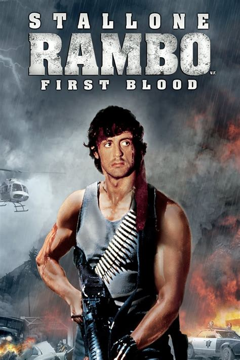 film rambo 1 first blood 1982 posters the movie database tmdb