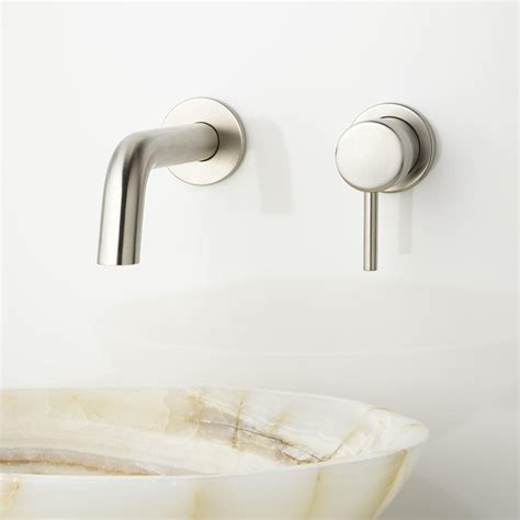 wall mounted bathtub fixtures rotunda wall mount bathroom faucet wall mount faucets