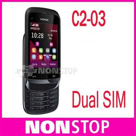 Touchscreen Ts Nokia C2 03 Original original nokia c2 03 unlocked phone dual sim card
