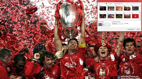 themes pc liverpool liverpool fc windows 7 theme download
