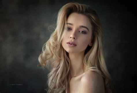 best women wallpaper women model blonde simple background long