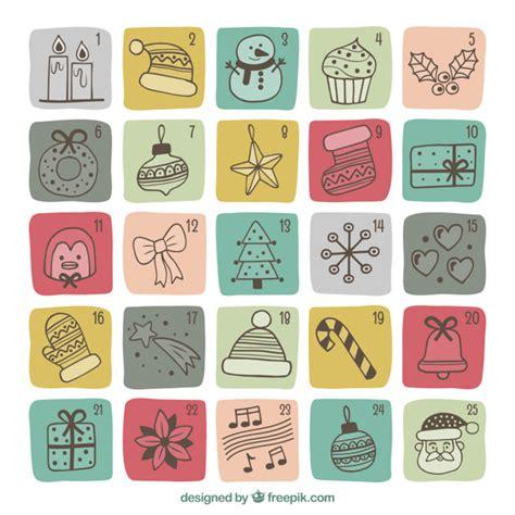 Calendario Retro Carino Retr 242 Calendario Disegni Di Natale Scaricare