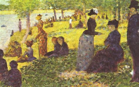 georges seurat most famous paintings sunday afternoon on the island of la grande jatte