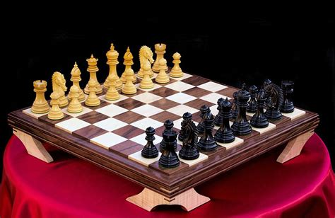custom chess sets crafted custom chess board by wood n reflections custommade