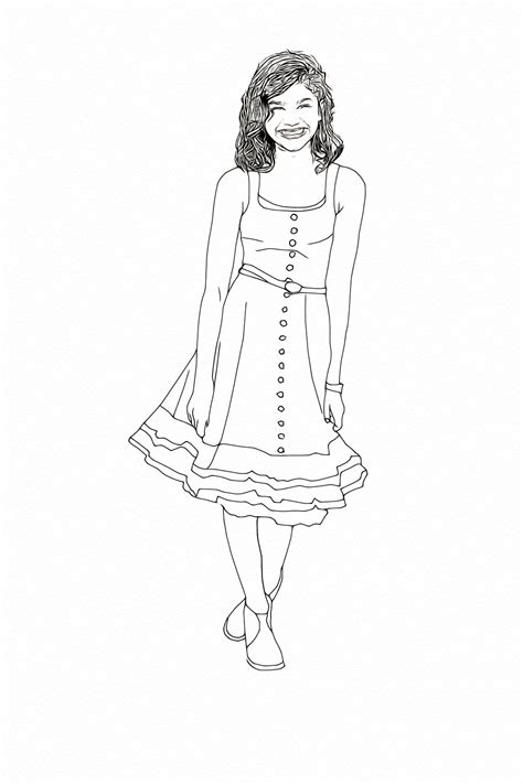 coloring pages of zendaya zendaya coleman free colouring pages