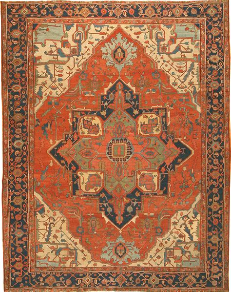 Antique Rugs antique serapi rug 42733 made in