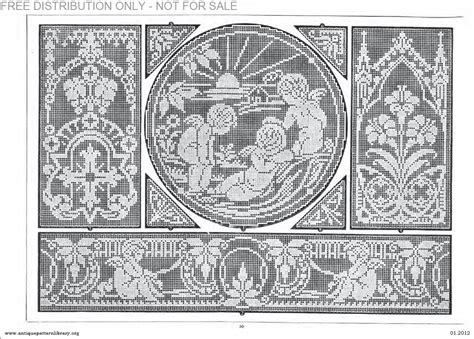 antique pattern library password apl b af003 filet ancien au point de reprise xii le page 30
