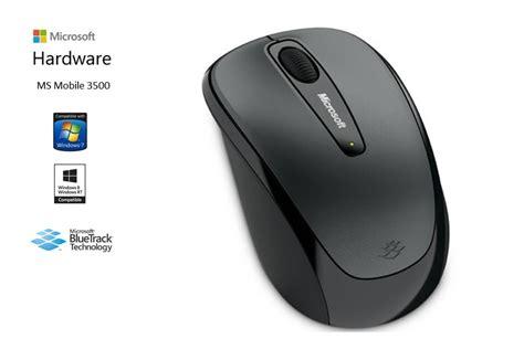 Mouse Wireless Microsoft 3500 mouse microsoft wireless mobile 3500 tecno store