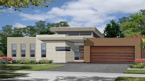 Contemporary House Plans One Story by One Story Modern House Designs