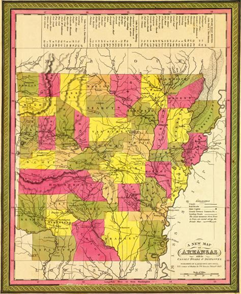 history of marshall county iowa classic reprint books arkansas state 1847 by s augustus mitchell historic map