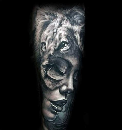 lion tattoo sleeve designs 40 forearm tattoos for manly ink ideas