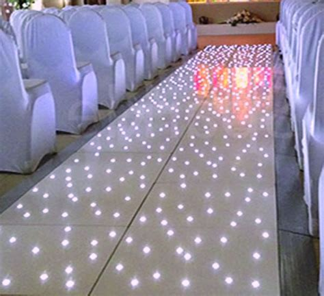 Wedding Aisle Lights by Led Starlit Aisle Runner Hertfordshire Events Weddings