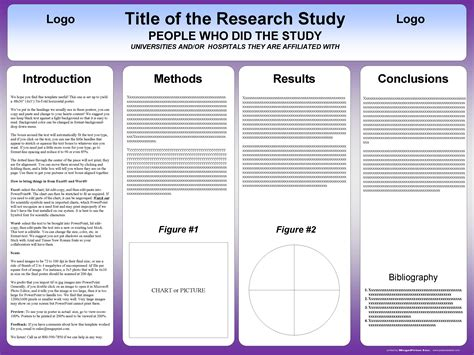 template for a poster tri fold poster template postersession
