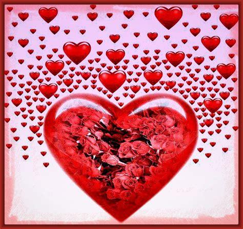 imagenes buenos dias con corazones corazones hermosos con frases de buenos d 237 as fotos de