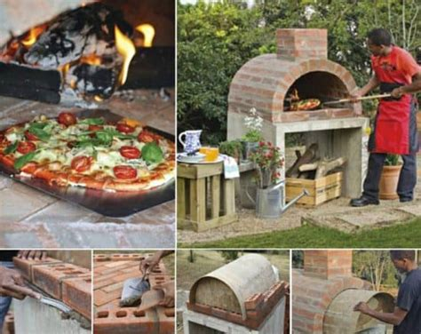 pizza oven diy brick easy tutorial