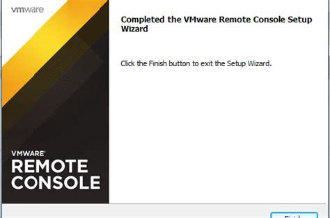 vmware server console vmware remote console