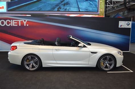 2015 Bmw M6 Convertible by 2015 Bmw M6 Convertible In Frozen White