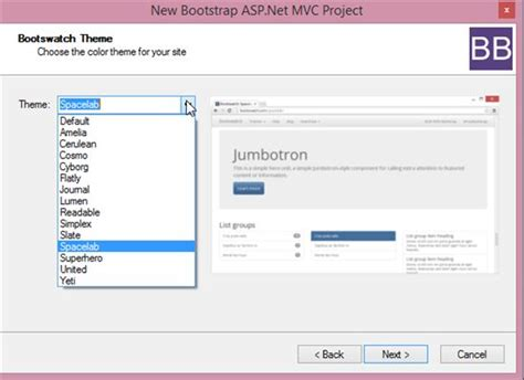 bootstrap templates for visual studio visual studio tools for bootstrap