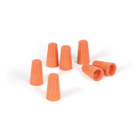 10 wire nuts 5 pk camco 174 wire nut orange 10 14 ga 165658