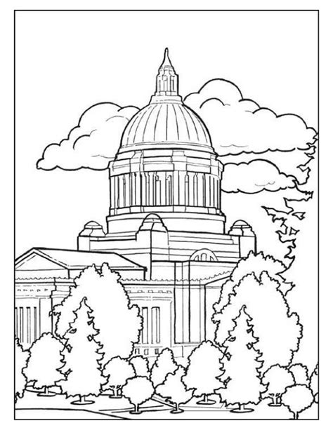 united states capitol building coloring page free coloring pages of texas capitol building