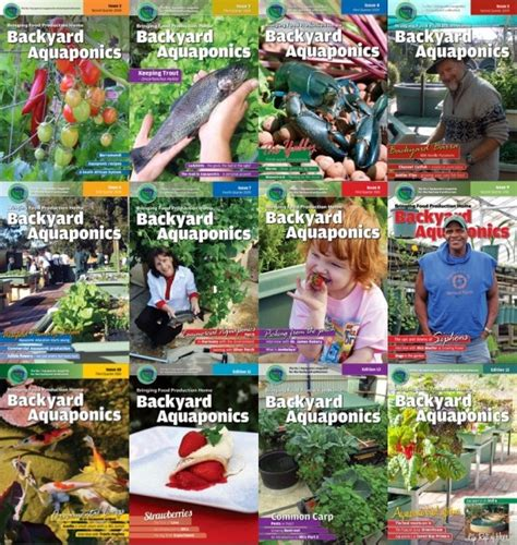 backyard aquaponics magazine backyard magazines literally everything about your
