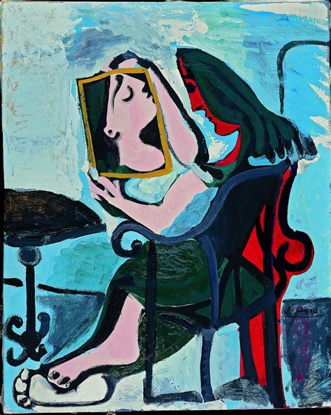picasso paintings jpg femme au miroir picasso just pablo picasso