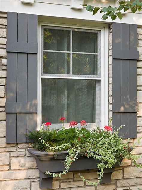 cottage window boxes 25 best ideas about window shutters on wood