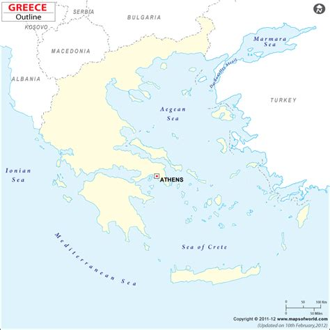 printable map of turkey and greece blank map of greece greece outline map
