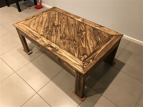 Coffee Table With Pallets Made Angled Design Pallet Coffee Table 1001 Pallets