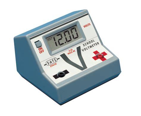Dc Voltmeter digital dc school voltmeter purpose made for educational use