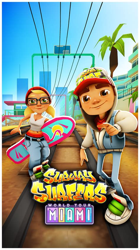 subway surfer apk mania apk subway surfers miami florida apk 1 18 0 mod unlimited gold