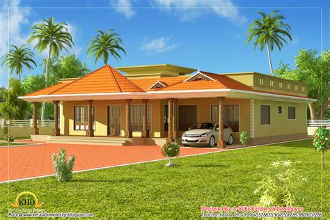 Draftsight Floor Plan by Single Floor House Plan In Kerala House And Home Design