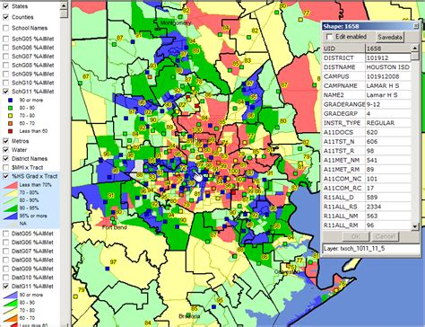 houston district k map school districts in houston map
