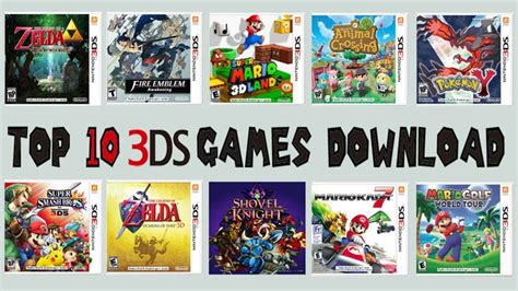 n3ds best top 10 3ds