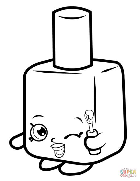 shopkins coloring pages lippy lips lippy lips shopkin coloring page free printable coloring