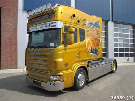 scania longline 164 l 580 v8 tractor unit from netherlands