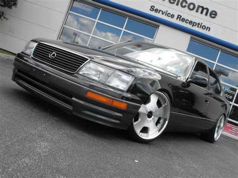 lexus ls400 lowered find used 1997 lexus ls400 clean look no reserve like