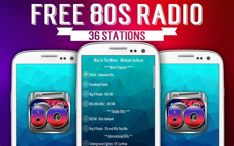 80s online radio free 80s radio android apps on google play