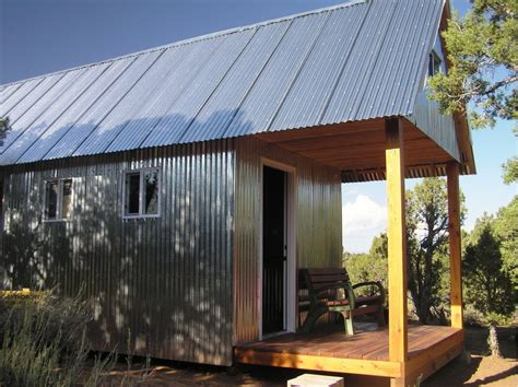 Small Metal Cabins by Way To Cut Metal Siding Small Cabin Forum