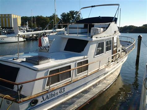 ebay trawler boats for sale albin yachts trawler 1978 for sale for 17 500 boats